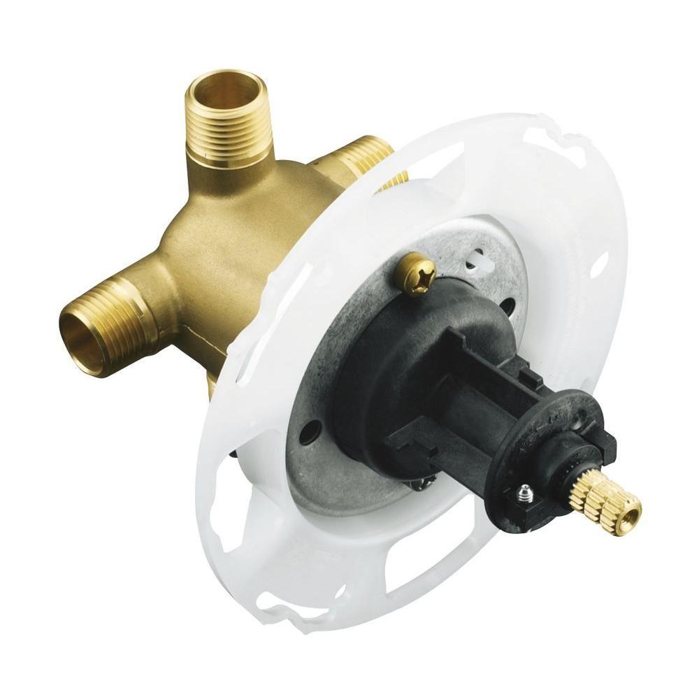 Kohler Rite Temp Pressure Balancing Valve K 304 K Na Wall Faucet Shower Drain Home Depot