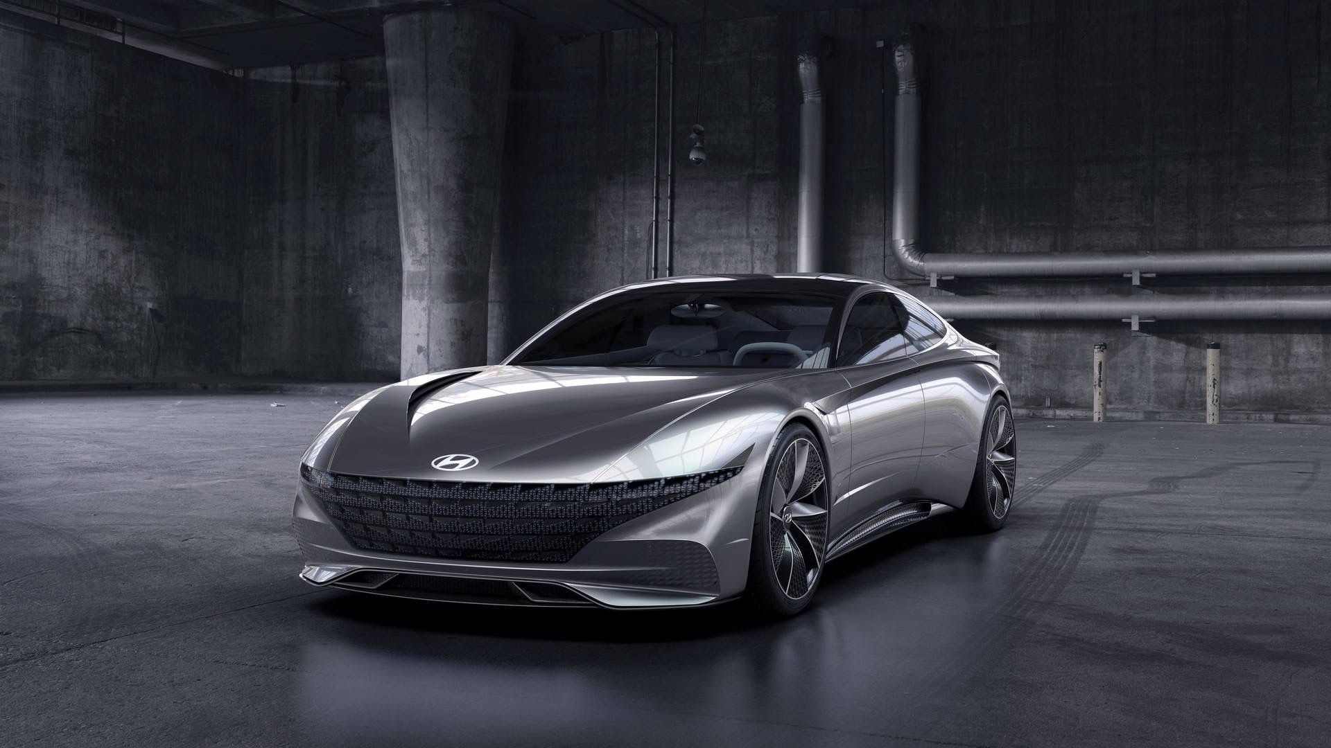 Hyundai Le Fil Rouge Concept Geneva 2018 4k Wallpapers Hd Wallpapers Id 23306