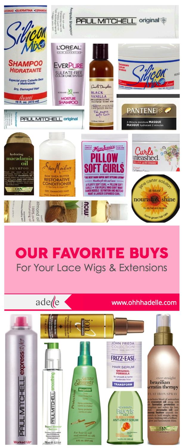 List Of Conditioners Shampoos Heat Protectors And Serums To