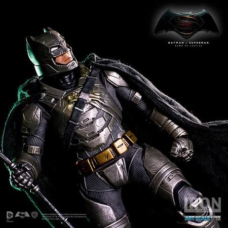 Iron Studios Batman v Superman Dawn of Justice 1/10 Scale Art Statue - Battle Damaged Armored Batman (Pre-Order) http://ss1.us/a/F25UVVRm