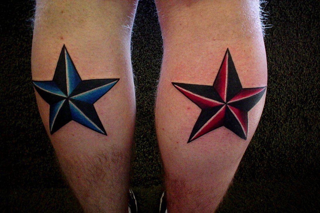 Nautical star tattoo designs wallpaper tattoos for Nautical star tattoo design