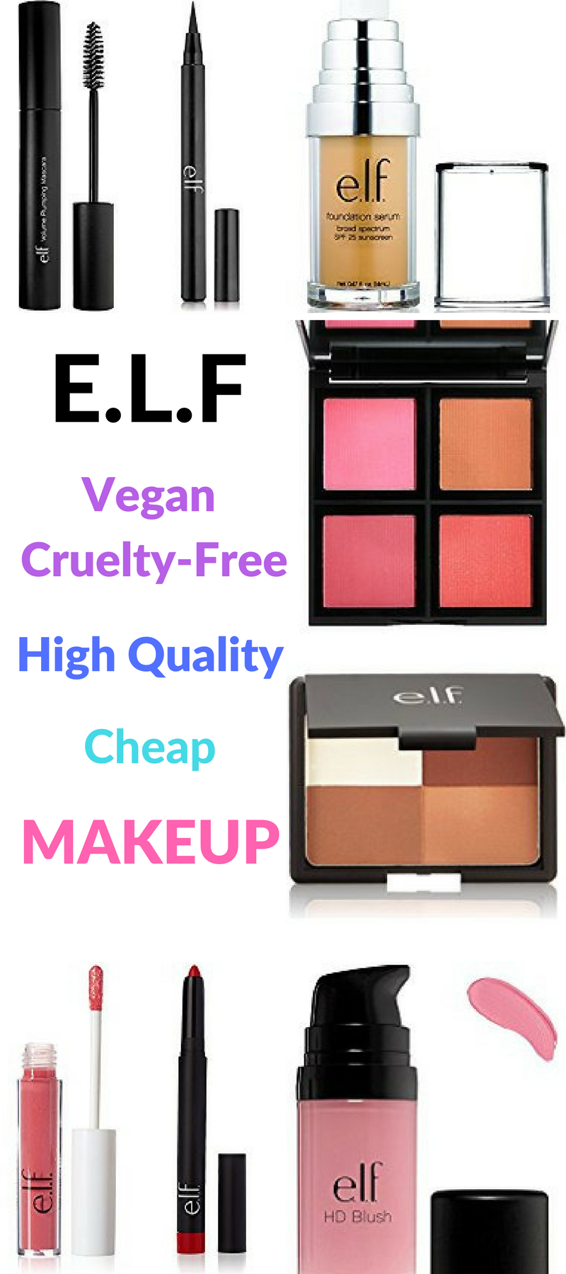 Cheap cosmetics and previous quality