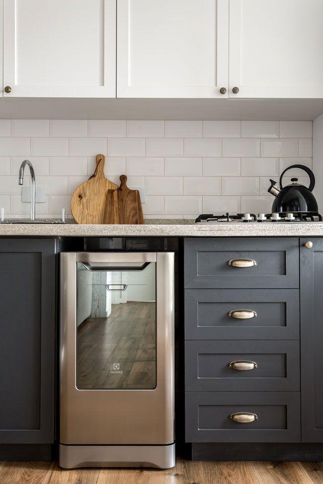 O ap mais lindo da internet kitchen - Cocinas tradicionales blancas ...