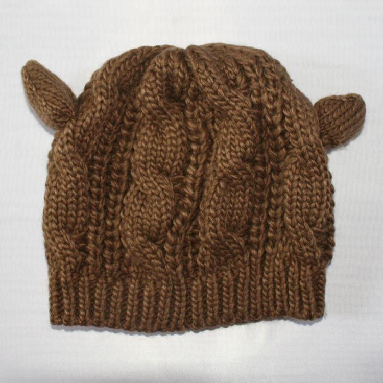 2016 Ladies Winter wool Cat Ear Hat Beanie