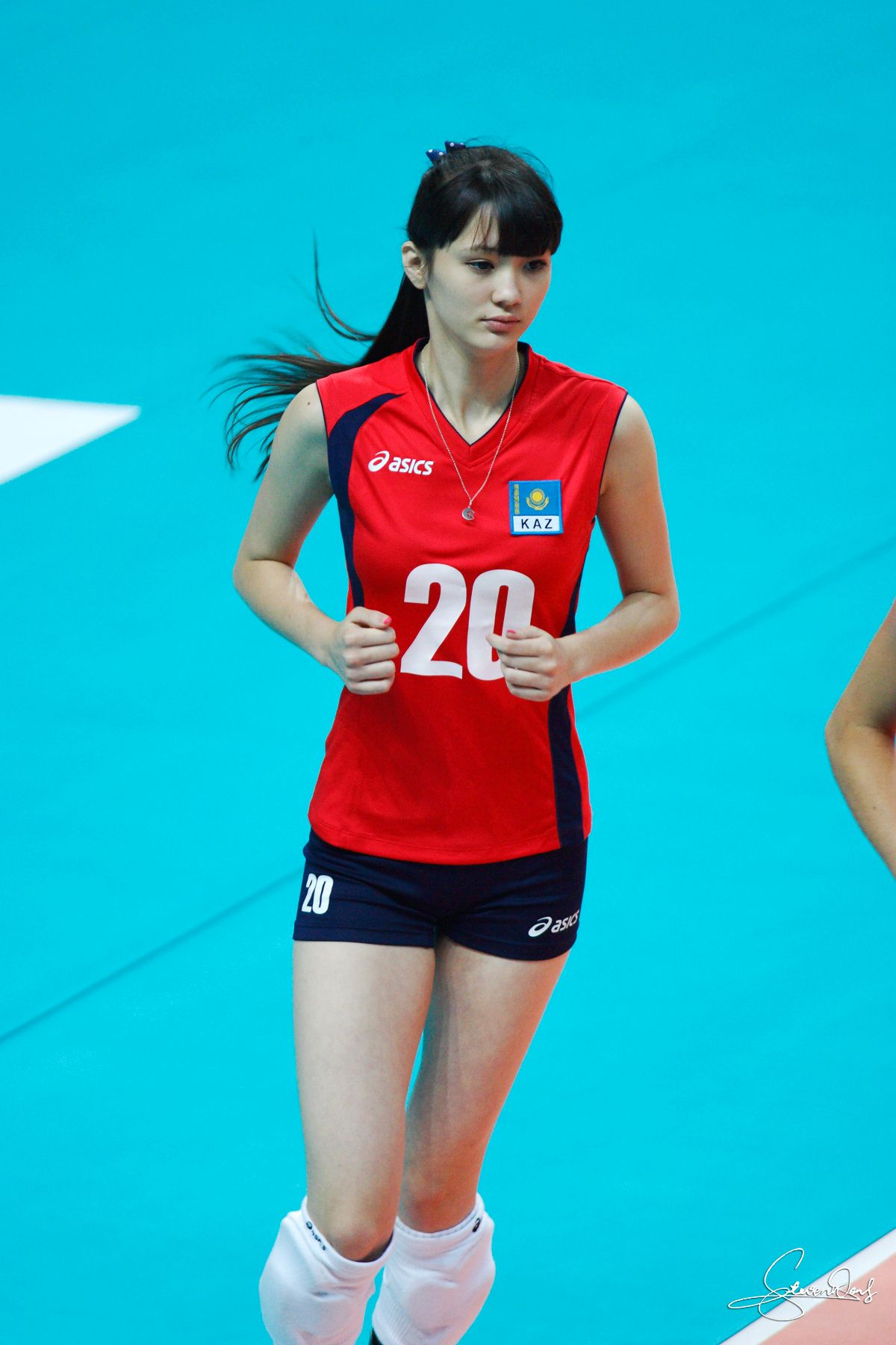 Sabina Altynbekova Volleyball Player Beautiful Athletes Women Volleyball Female Athletes