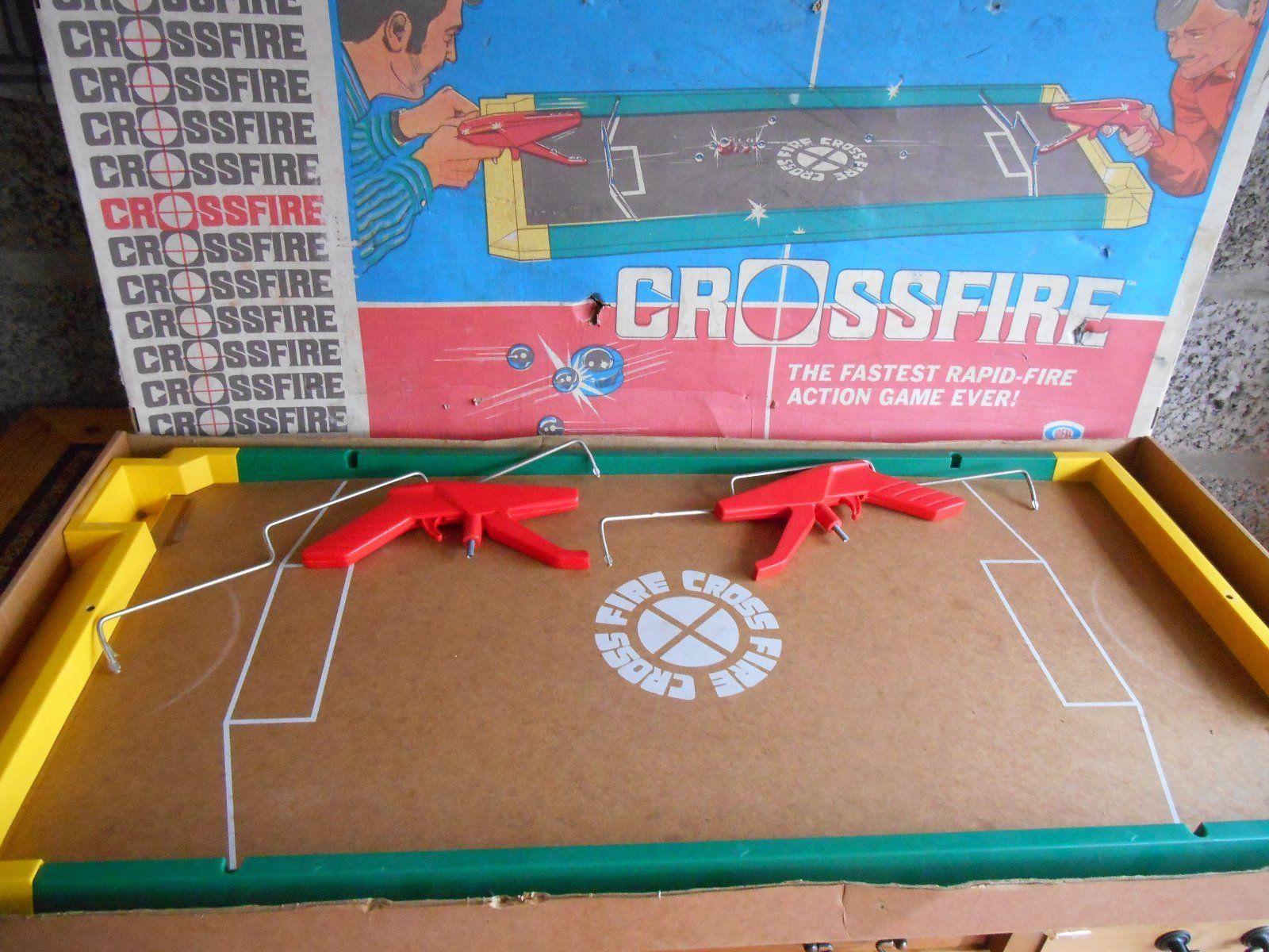 VINTAGE CROSSFIRE BOARD GAME eBay Board games, Games