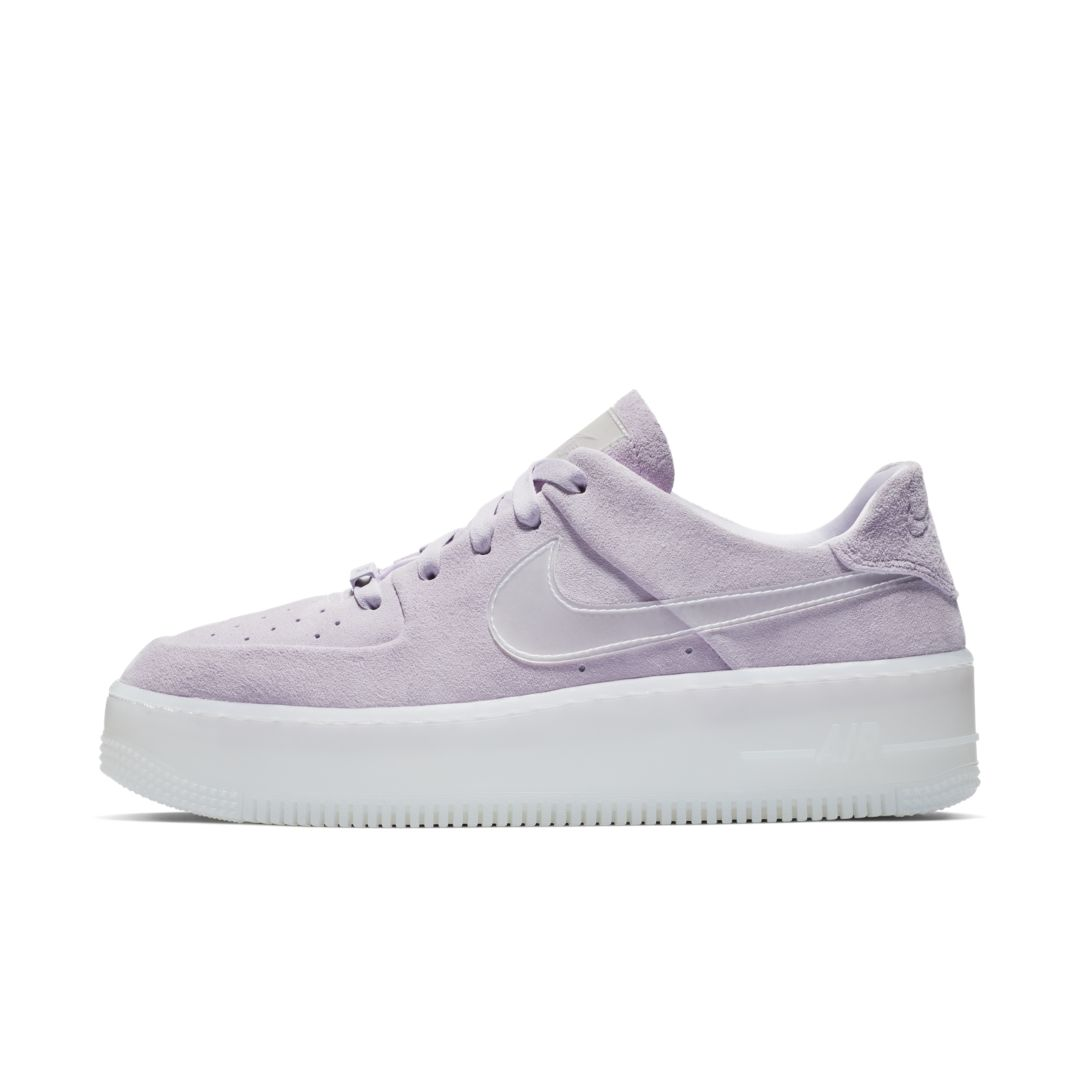 new style bb542 15fe8 Nike Air Force 1 Sage Low LX Women s Shoe Size 11 (Violet Mist)