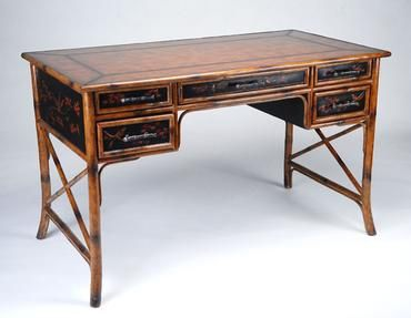 bamboo writing desk