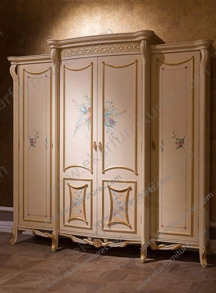 Vintage muebles dormitorio armario de madera buy product for Roperos para dormitorios