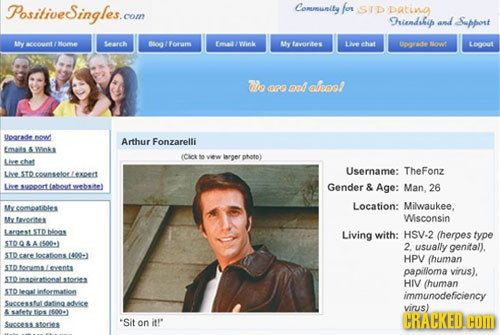 Cracked com dating sites