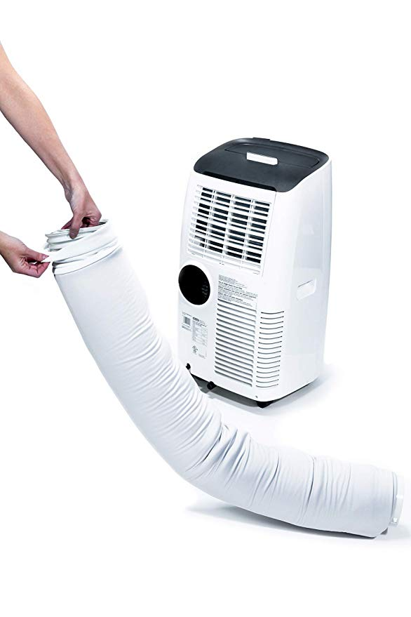 Amazon Com Delonghi Dlsa003 Portable Air Conditioner Exhaust Hose Cover Wrap Insulated Universal Light Gray H In 2020 Portable Air Conditioner Delonghi Light Grey