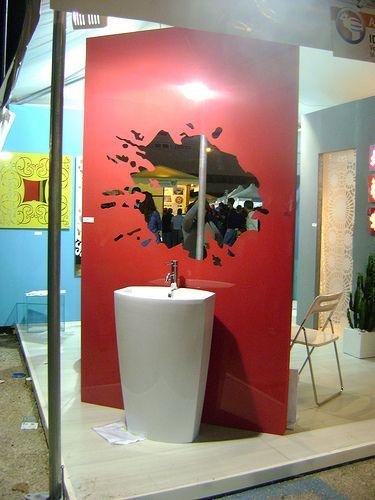 Pannello specchio di design