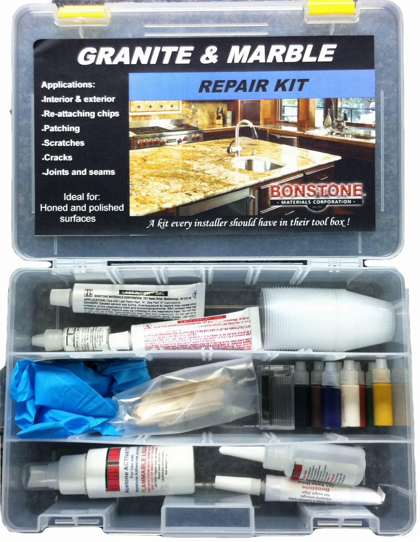 Granite And Marble Repair Kit Bonstone Materials Corporation