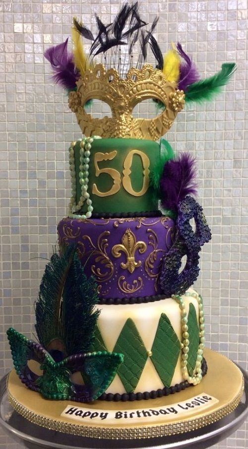 34 Unique 50th Birthday Cake Ideas with Images #moms50thbirthday