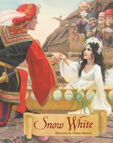 Snow White: A Tale from the Brothers Grimm by Jakob Grimm, http://www.amazon.com/dp/1402771576/ref=cm_sw_r_pi_dp_BPcErb1A553ME