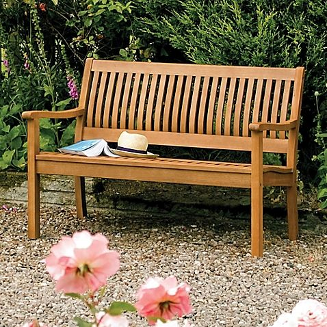 Bosmere Rowlinson Willington Bench In 2019 Wooden Garden Benches Wooden Garden Garden Furniture