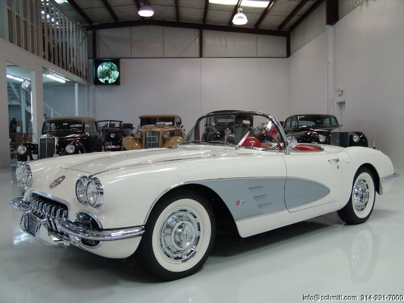 DANIEL SCHMITT & CO PRESENTS: 1960 CHEVROLET #CORVETTE CONVERTIBLE   WWW.SCHMITT…