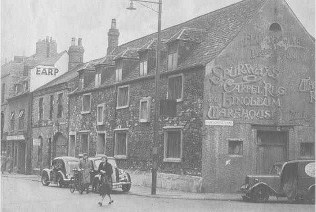 The Old Grammar School Highcross Street 1954 A Carpet Warehouse Leicester Leicestershire City