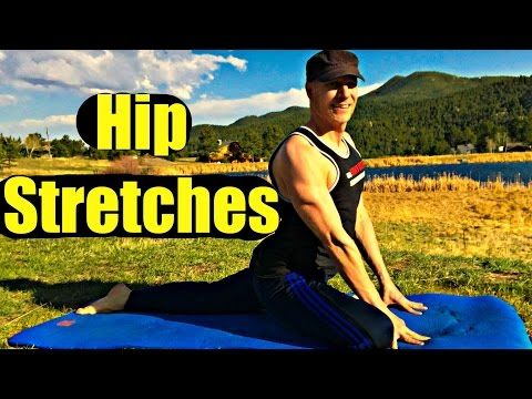 1 hip stretches and twists flexibility routine  yoga