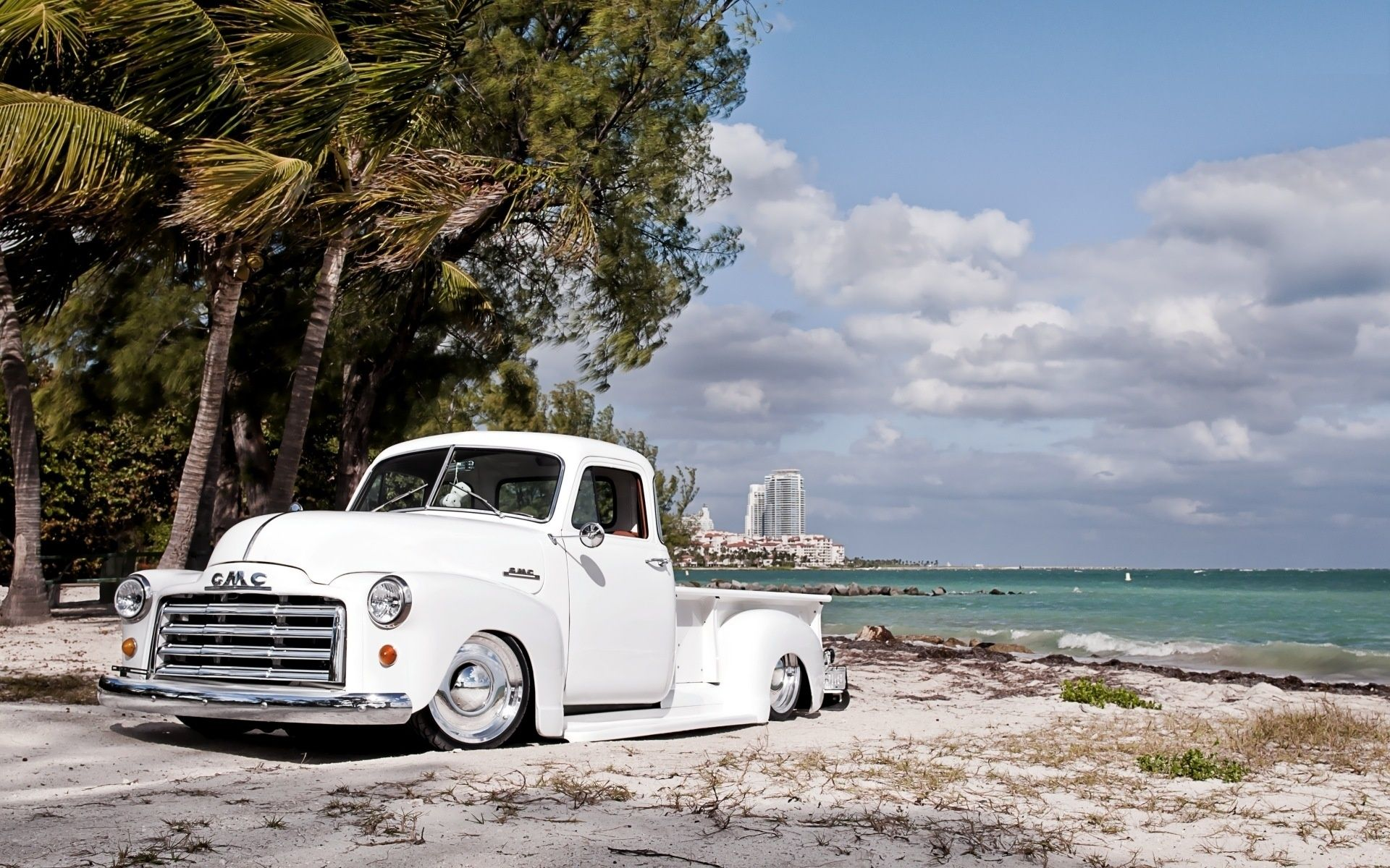 Oldie But Goodie Chevy Rules Beach Cars Truck Yeah Bagged Trucks