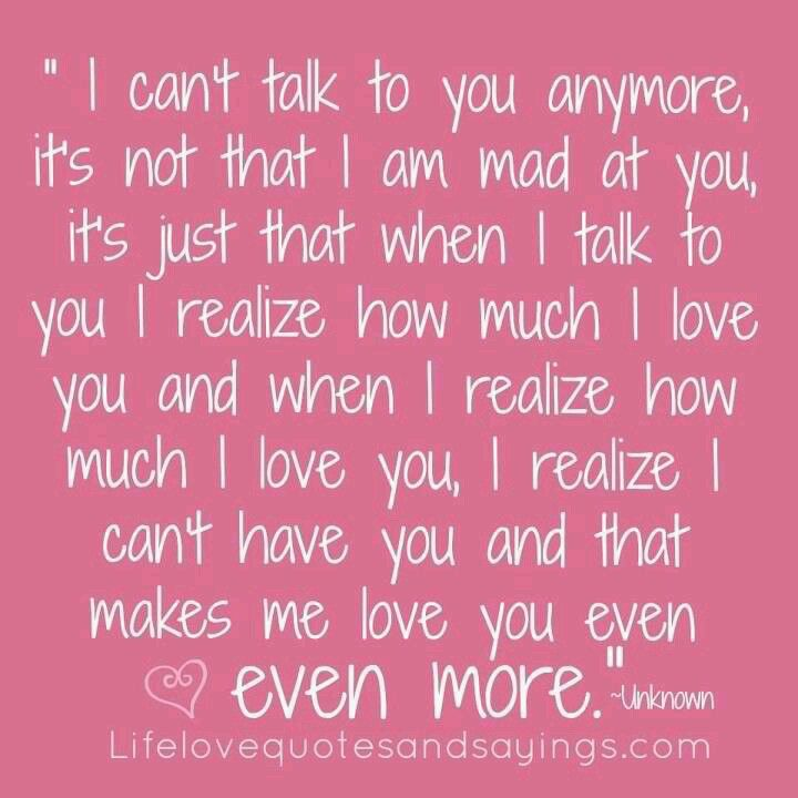 Cute quote/ my friend is like this with her ex boyfriend.. | Words ...
