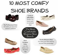 10 most comfortable womens shoe brands  comfort shoes