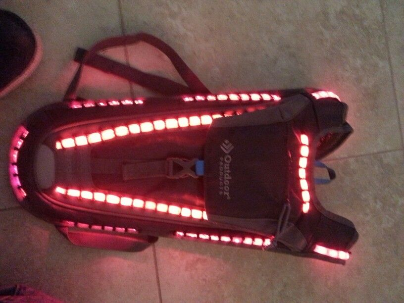 New led  hydration  pack on my etsy