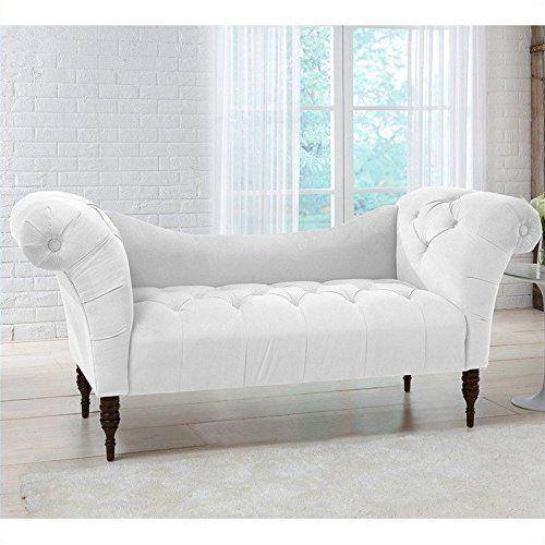 Skyline Furniture Tufted Chaise Lounge In White Skyline F Https Www Amazon Com Dp B00nz6dm7o Ref Cm Sw R Tufted Chaise Lounge Furniture Chaise Lounge Sofa