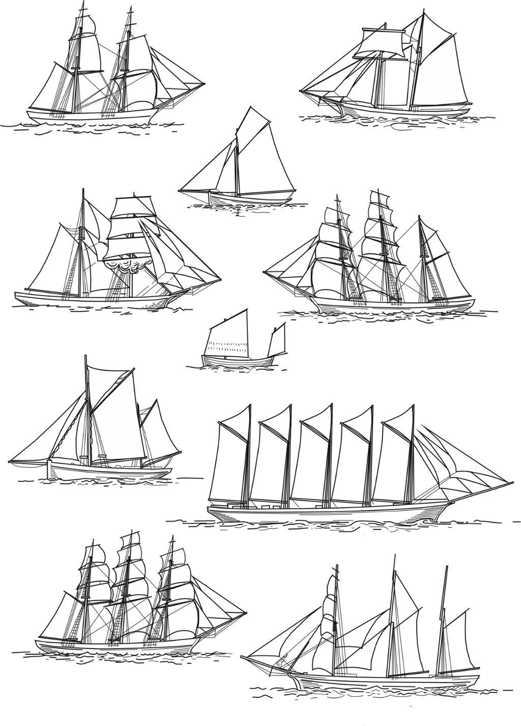 touch esta imagen  copy of  u0026quot sailing ship rig types u0026quot  by