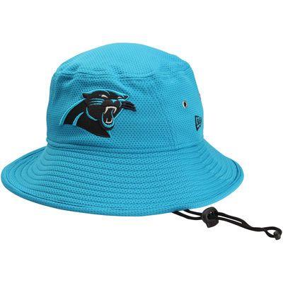 ab56c4afb5b ... Mens Carolina Panthers New Era Panther Blue Team Redux Bucket Hat ...