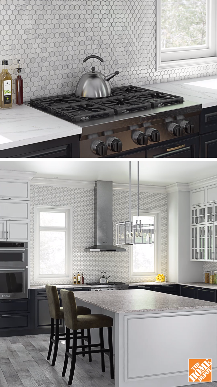 Don't be afraid to play with large areas of texture. This ...
