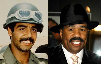 a7ab4b707f0 Uday Hussein looks like Steve Harvey