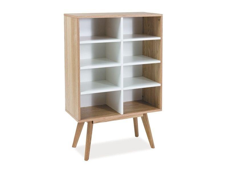 Scandic Regal Bucherregal Mdf Holz Kommode Scandi Design Ebay Regal Bucherregal Kommode