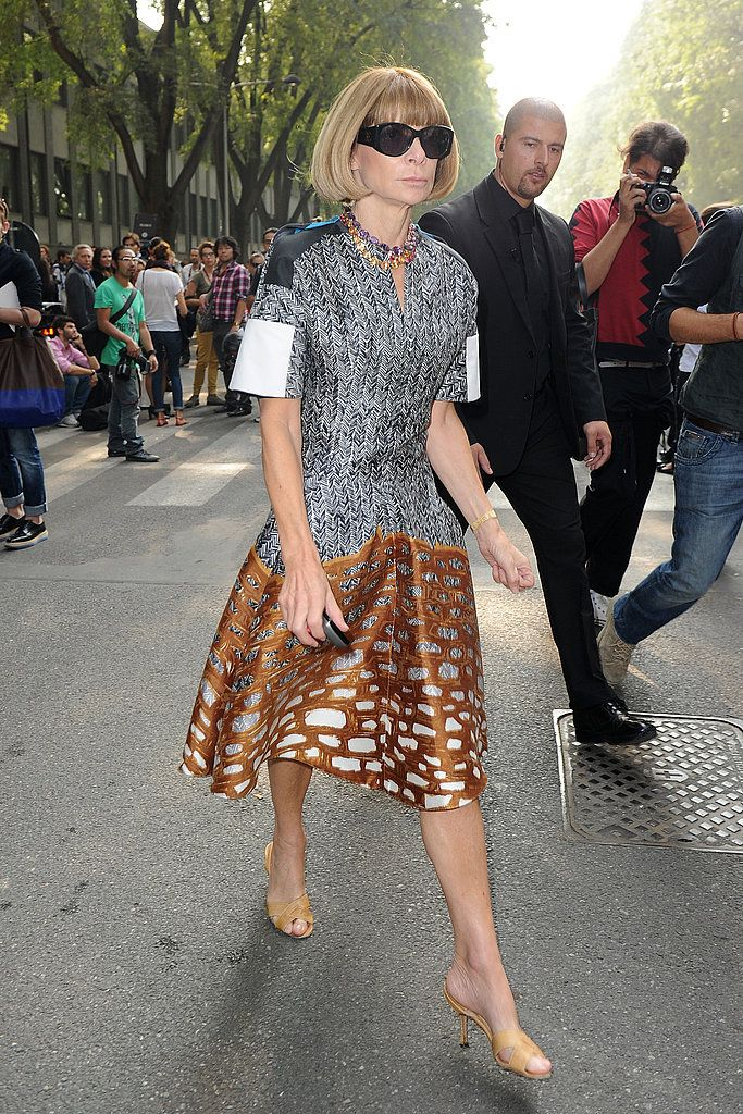 Anna Wintour Style | POPSUGAR Fashion