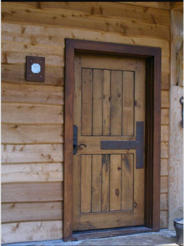 Rustic Entry Door 42 X 80 Welcoming Entry Way Pinterest