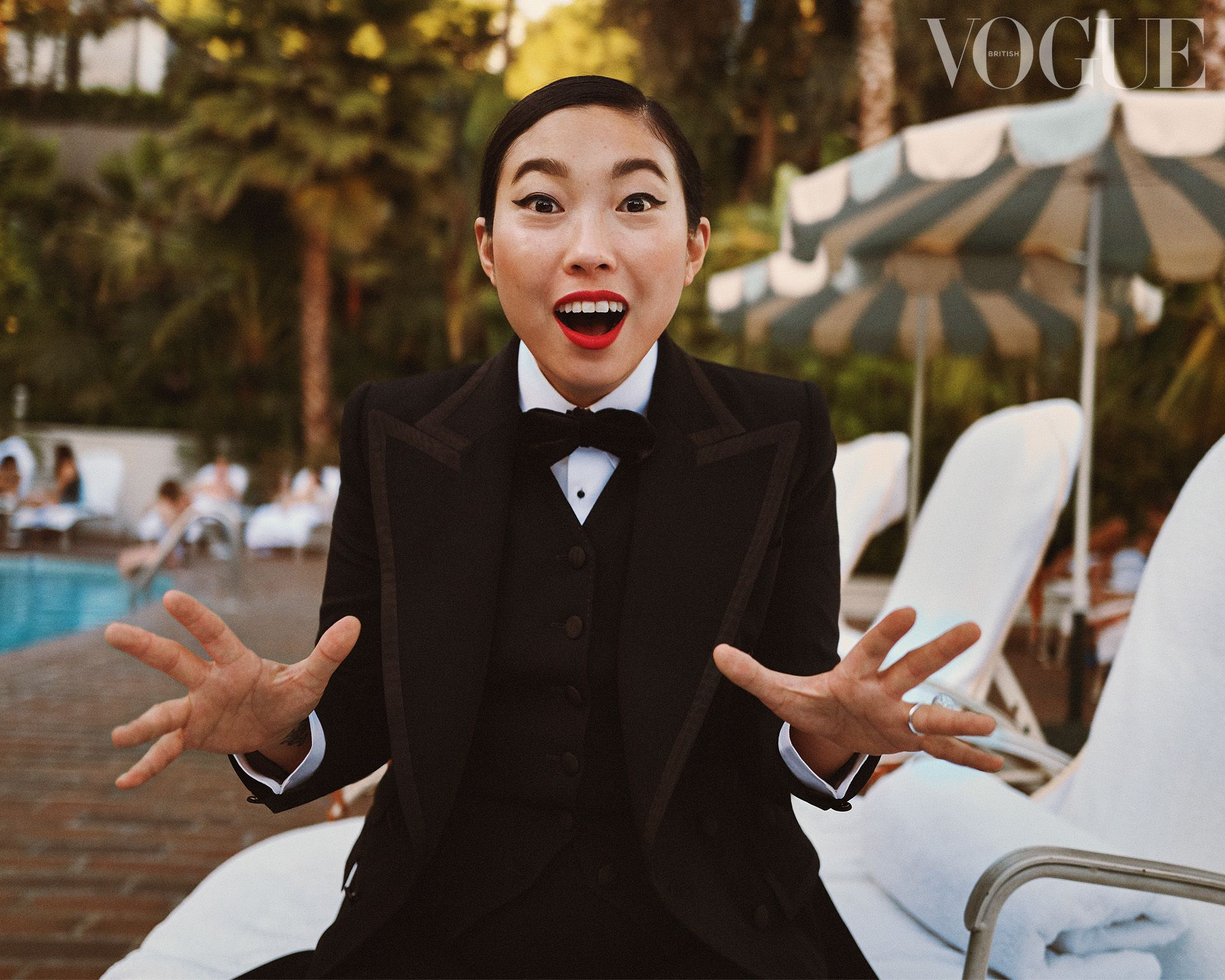 Awkwafina: British Vogue's 2020 Hollywood Portfoli