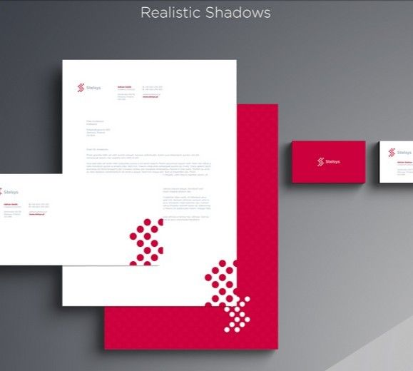 PSD Template Letterhead,Business Cards \/ Branding and Stationary - id card psd template