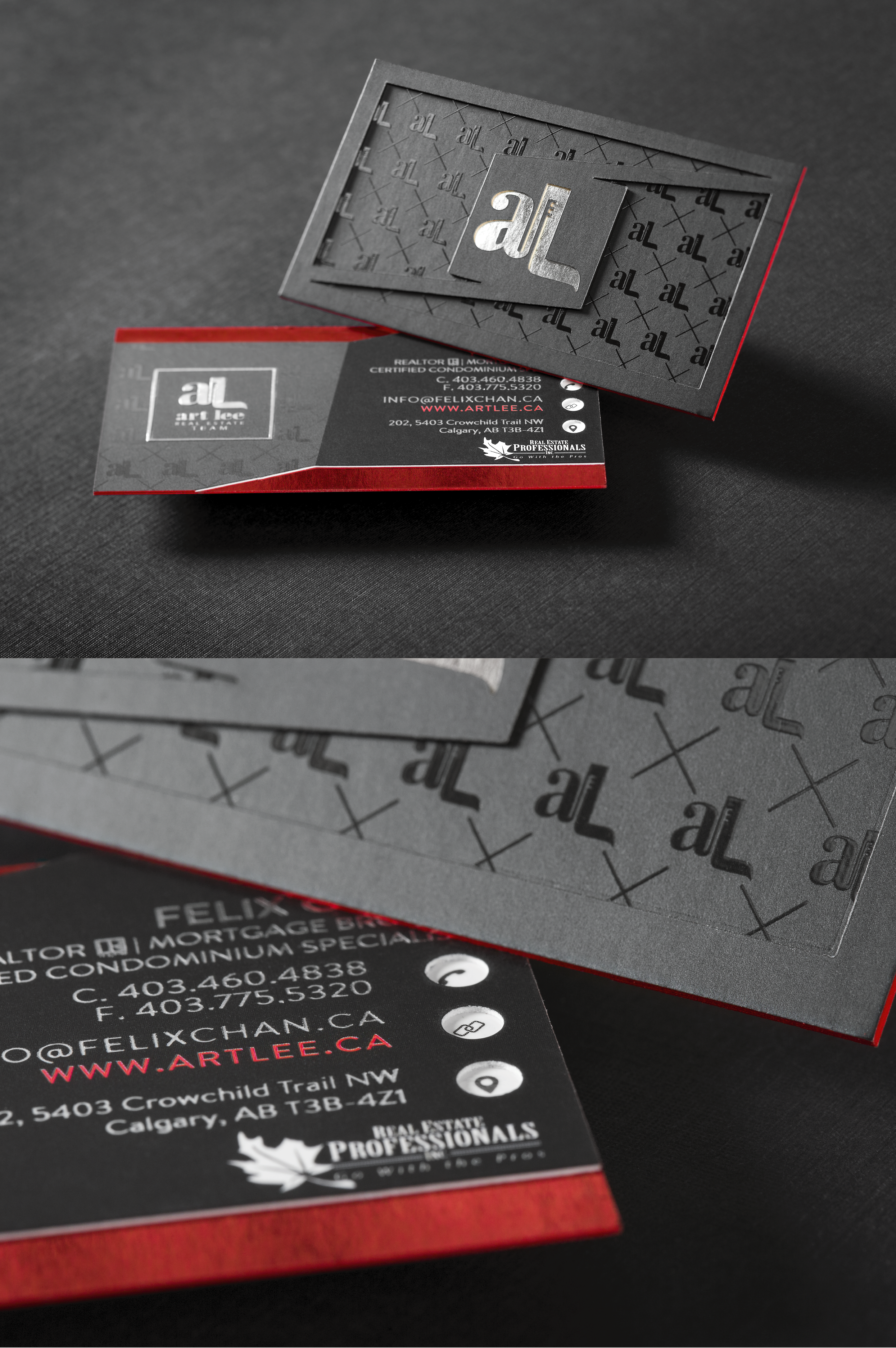 Art Lee Professional Business Card Thick Business Cards Business Card Design Business Card Gallery