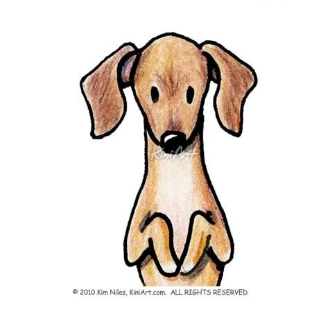 Original Art Dachshund Wiener Dog Doxie Aceo By Kiniart On Etsy