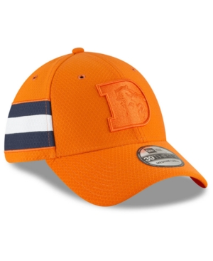 fdd7da0db87 New Era Denver Broncos Official Color Rush 39THIRTY Stretch Fitted Cap -  Orange L XL