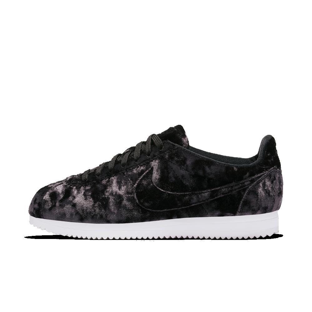 7fa6a8ffb98840 Nike Cortez Classic LX Women s Shoe Size 10.5 (Black)