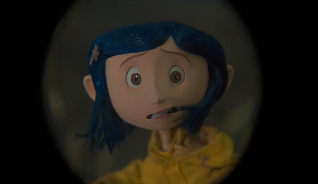 Coraline the book and movie