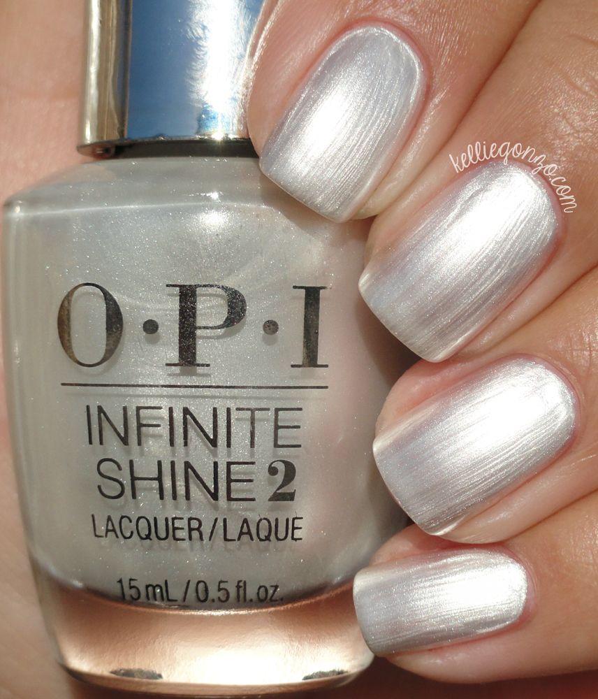 OPI Infinite Shine Girls Love Pearls @kelliegonzoblog | my nails ...