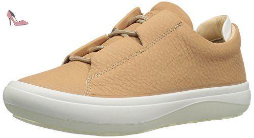 Ecco Kinhin, Sneakers Basses Femme, Blanc (White/Veg Tan), 41 EU