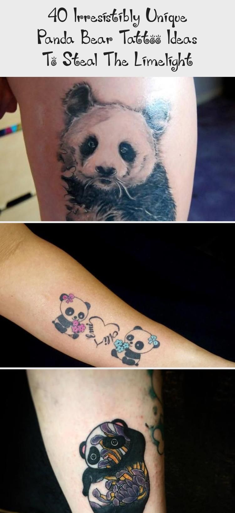 40 Irresistibly Unique Panda Bear Tattoo Ideas To Steal The Limelight #babypandabears 40 Irresistibly Unique Panda Bear Tattoo Ideas to Steal the Limelight #tattoo #tattooideas #pandatattoos pandatattooideas #pandabeartattoo #smallpandabeartattoo #ArtTattooEscrita #ArtTattooFrida #ArtTattooSymbols #ItalianArtTattoo #ArtTattooSimple #babypandabears