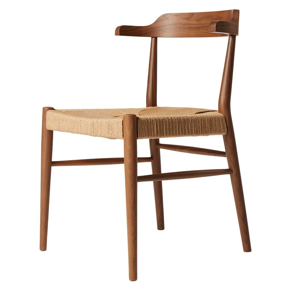 The Conran Shop Pinch Side Chair Walnut