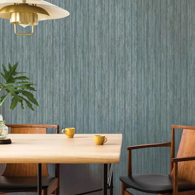 Tempaper 56 Sq Ft Chambray Vinyl Textured Grasscloth Self Adhesive Peel And Stick Wallpaper Lowes Com Grasscloth Removable Wallpaper Grasscloth Wallpaper
