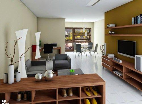 Dekorasi Ruang Tamu Ukuran Kecil