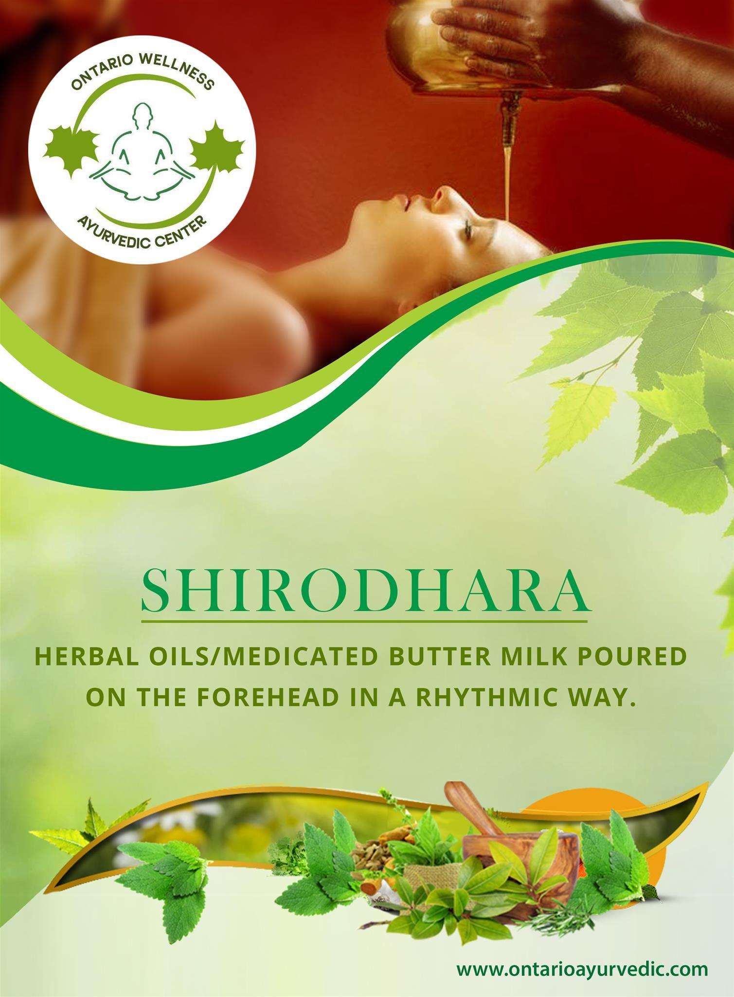 ☘ Ontario Ayurvedic Wellness Center | Shirodhara 📌 P1, Floor Sh-3