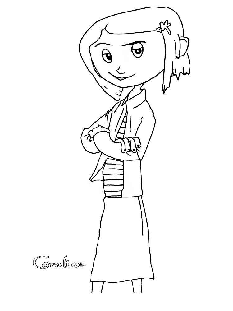 Coraline Coloring Pages Free Printable Coraline Coloring Coloring Books Cartoon Coloring Pages Coloring Pages
